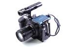 Lanparte社・BMPCC4K-HC・BMPCC4Kカメラ用ハーフケージシステム、SAMSUNG SSD T5装着クランプ付