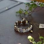 Flower of Life Original Coconut Beads Bracelet  フラワーオブライフ・オリジナルビーズブレス