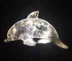 1) イルカ (ブラジル産クオーツ)