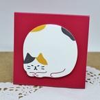 【スタンドスティックマーカー】日本ねこ(スタンド付箋)【メモ帳 猫雑貨 ネコ キュート】