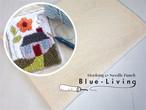 綿土台布(大)【100cmx100cm】フックドラグ&ニードルパンチ用*【毛糸刺繍*ループ&ニードル】