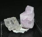 2ケセット!カリフォルニア産 クンツァイト#2 自主採掘 リシア輝石  KZ039 鉱物 天然石 原石