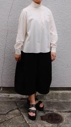susuri/ススリ チンカラーブラウス ivory #19-452