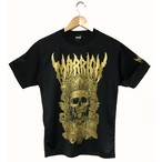 DEATH MARRION DRY TEE (Black×Gold)