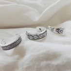 【送料無料◇即納】Ring♡シルバー3セットトゥーリング