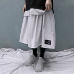 吉業重工 リバーシブルロングスカート