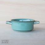 [トキノハ] tetraシリーズ グラタン皿(緑)