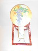 漆蒔絵合わせ手鏡 URUSHI lacquer hand mirror