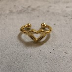 Heart dot phalange RING #0126 ハートドットファランジリング/ゴールド