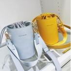 【新作10%off】mini shoulder bucket bag  2688