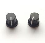 【マグネット】シンセツマミ型マグネット 黒×ホワイト Synth Knob Magnet SKM