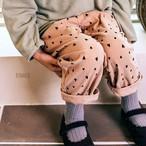 «予約» heart corduroy pants 2colors ハートコーデュロイパンツ