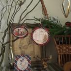 cfm132【メゾンドケイティ/クリスマスのフレーム飾りカルトナージュキット】