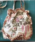 【セット】シルクエンブロイダリー生地bag飾り