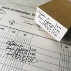 オリジナルスタンプ 手書き文字#3-Memorandum-