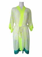 Fringe Medium Beach Robe Neon ビーチフリンジミディアムローブネオン