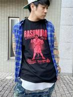 バス村Tシャツ BASUMURA T-shirt #04 レッド