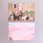 POST CARD「犬のいる部屋」no.129