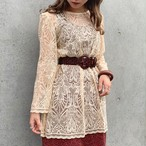 (LOOK) lace design l/s tops