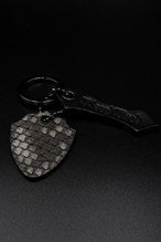 Item No.0325:Key ring/Diamond Python/Matt Gray