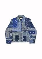 """NAVY  BANDANA""""D""""jacket / size1"""