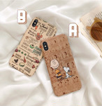 【オーダー商品】Retro boy dog iphone case