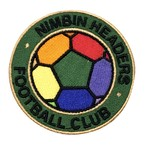 ★Nimbin Fair★NIMBIN HEADERS FOOTBALL CLUB PATCH