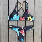 Bikini♡ビビットフラワーブラジリアンビキニ