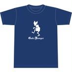 【期間限定セール】餓鬼くん Tシャツ(NAVY)
