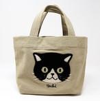 猫トートバッグ(ファミネコトート)ベージュ