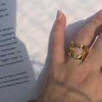 handcuffs RING gold #1734 ハンドカフスリング/ゴールド