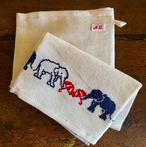 ALDIN 刺繍cloth  エレファント