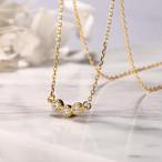 【小物】幾何模様スタイリッシュ華奢みえ売れ筋ネックレス 22447286