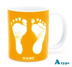 ai mug   A-type (YELLOW) QRコード付き