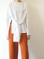 Winding blouse/MARECHAL TERRE