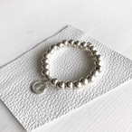 Maria silver925 beads / ストレッチ ループブレスレット