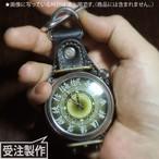 Amijakan Watch 専用「懐中仕様革ベルト」 TYPE-00 / BLACK