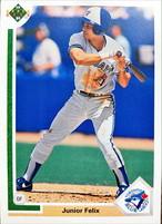 MLBカード 91UPPERDECK Junior Felix #563 BLUEJAYS
