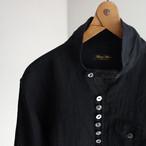 frenchvictorians premium-linen pullover / black