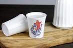 温度で変化する酒器〜天昇鯉・白〜 SP3J52-07  *丸モ高木陶器* お酒をより楽しむためのおしゃれな酒器!