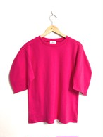 ふんわりシルエット袖のカットソー ピンク