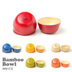 efim ( エフィム ) Bamboo bowl バンブー ボウル Mサイズ BAM-BOM アウトドア  キャンプ 木製 食器 おしゃれ カフェ シンプル カラフル ウッド