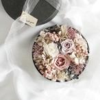 【母の日ギフト】数量限定 くすみ大人ピンクflower box  /  母の日 プレゼント プリザーブドフラワー  フラワーボックス カーネーション お花