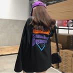 【tops】カジュアルプリント長袖Tシャツ13885704