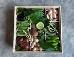 京の野菜重/木箱