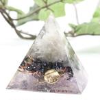 ピラミッド型Ⅱ オルゴナイト ムーンストーン&ラブラドライト