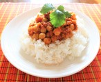 【夏季限定】ひよこまめとトマトのカレー 豆付きスパイスセット