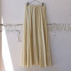 【nowos】COTTON/SILK GATHERED SKIRT