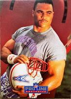 NFLカード 91PROLINE AL SMITH #067 OILERS