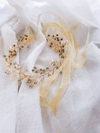 Antique crystal headband